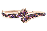 D206-43229: BANGLE 3.12 MULTI-COLOR 3.30 TGW (AMY,GT,PT)