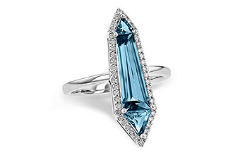 E208-19584: LDS RG 2.20 LONDON BLUE TOPAZ 2.41 TGW