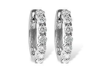 G203-66838: EARRINGS 1.00 CT TW