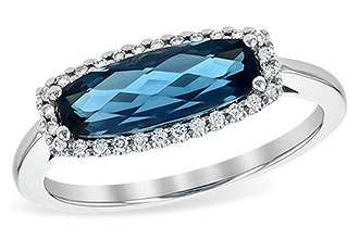 L208-23256: LDS RG 1.79 LONDON BLUE TOPAZ 1.90 TGW